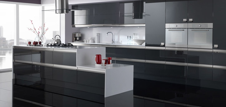Allure Kitchens Southampton - Reflections Graphite
